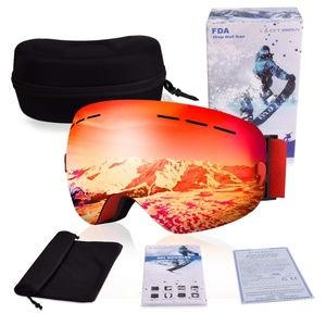 Other - RED Ski Snowboard Goggles Winter Sports Eyewear Du